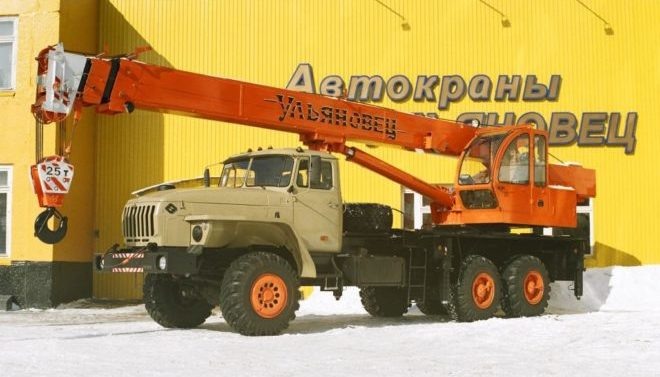 Ульяновец МКТ-25 на шасси Урал