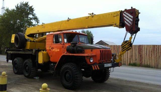 Урал 555 14 тонн