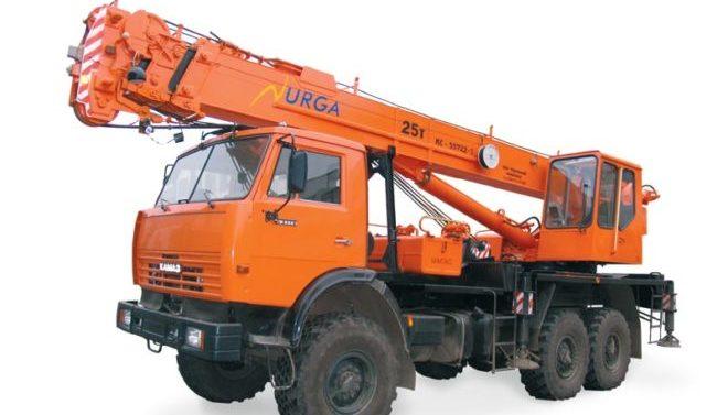 Юргинец КС-55722-3 на шасси КамАЗ 43118