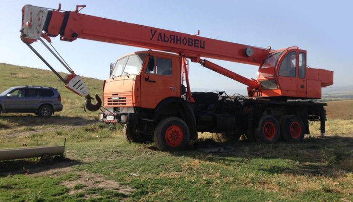 Автокран Ульяновец МКТБ-30.1