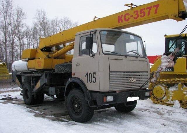 Автокран КС-3577 на базе МАЗ-5337