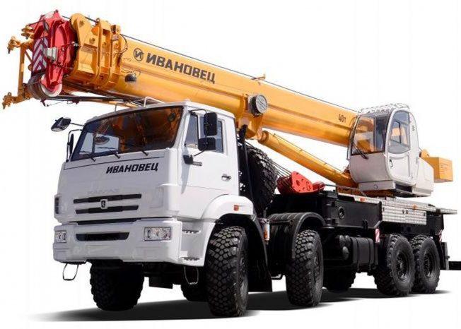 Ивановец КС-65740-4 на шасси КАМАЗ-63501
