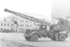Автокран Ивановец 1954 г.