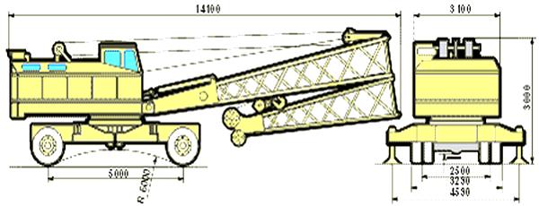 схема крана кс 5363 д