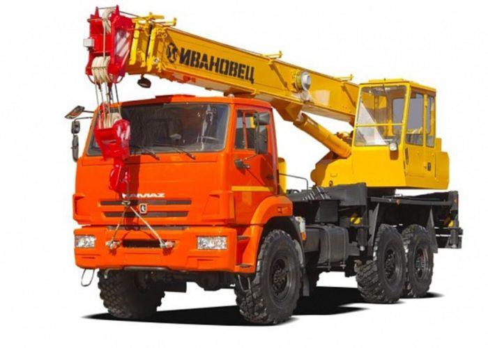 Ивановец КС-35714К-2 на шасси КаМАЗ-43118