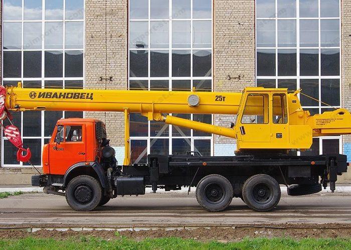 Ивановец КС-45717K-1 на шасси КАМАЗ-65115