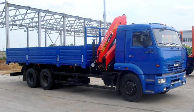 КамАЗ-65117 с КМУ