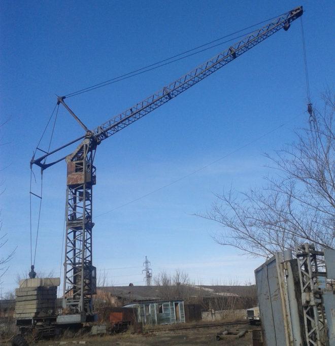 Кран башенный КБ-100