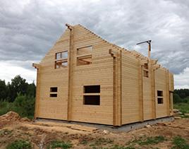 Расчет количества бруса для строительства дома