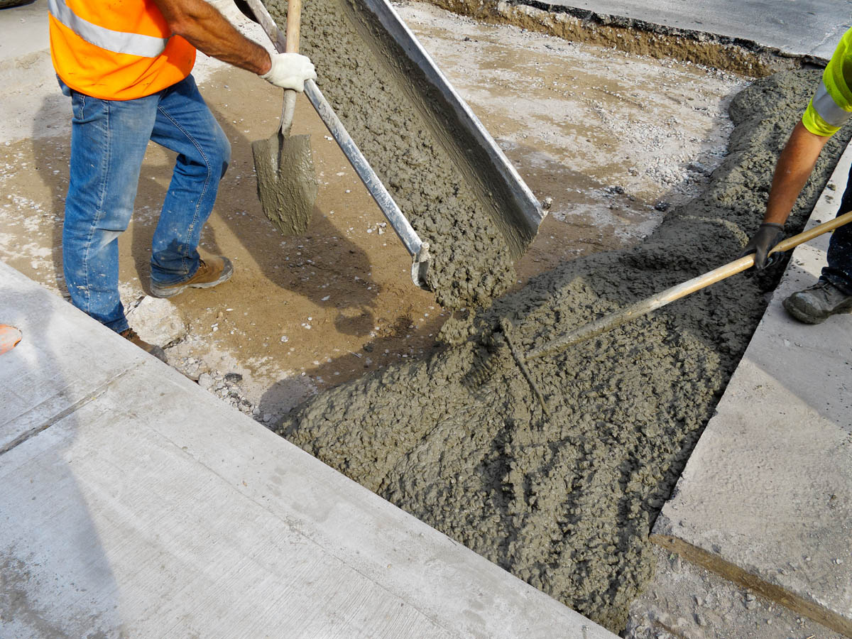 бетонная смесь