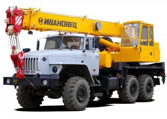 ивановец КС-35714-2 на шасси урал-5557