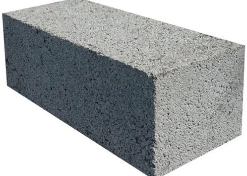 Блок рядовой керамзитобетонный