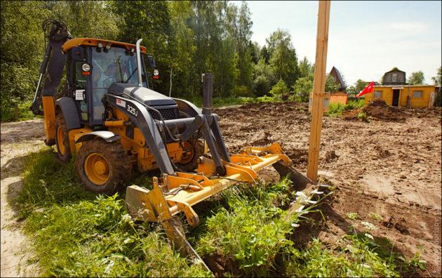Подготовка земельного участка под строительство